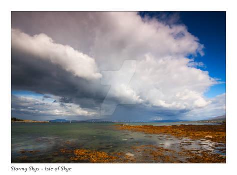Stormy Skys - Isle of Skye