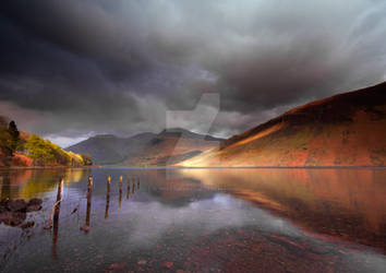 Low Light on Wast Water