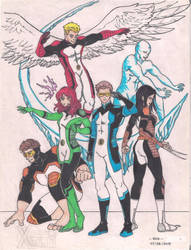 All New X-men by bLo0dheaven