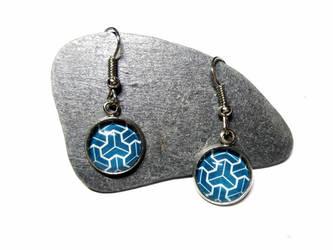 Kikko - Silver Earrings by J-LE7