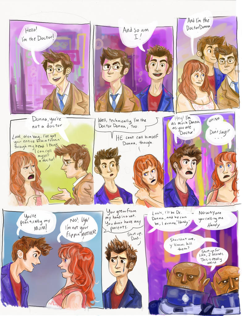 The DoctorDonna - comic by polvoice