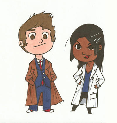 The Doctor and Martha by polvoice