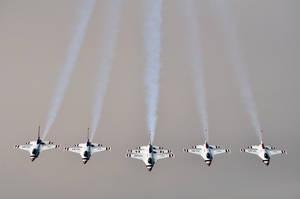 Thunderbirds Stinger Formation by SublimeBudd
