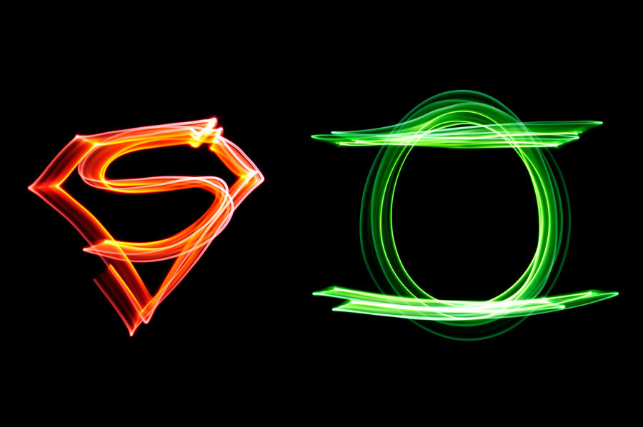 Superman and Green Lantern by SublimeBudd