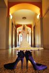 Bride in Hall