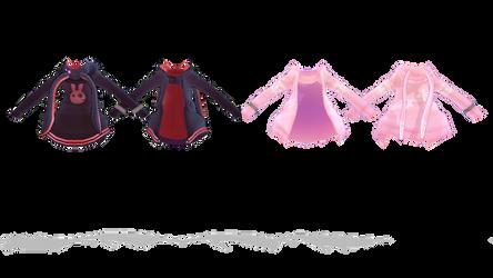 mmd Kuma-Yuzuki Yukari Jacket