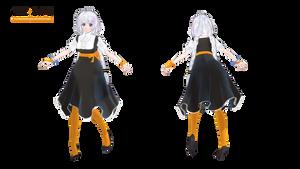 MMD Kizuna Akari Moe style model download
