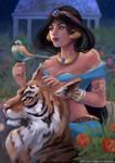 Jasmine, Aladdin Fanart