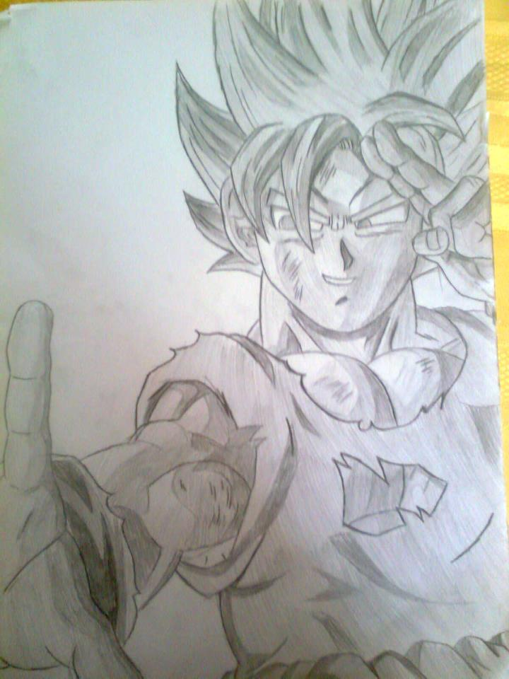 Goku Buu Saga by GrandDibu