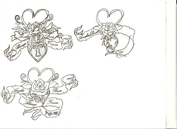 more wedding tattoo ideas by miasbg07 on DeviantArt