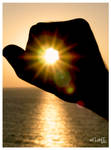 Holding the sun by aflami