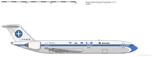 BAC 3-11 Varig
