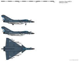 Dassault Mirage 4000CA Argentine Navy by kike-92
