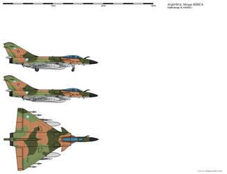 Dassault Mirage 4000CA - Argentine Air Force 1986
