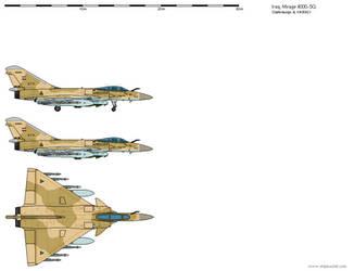 Dassault Mirage 4000-5Q - Iraq