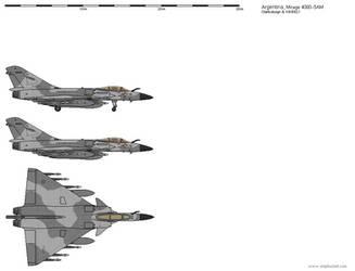 Dassault Mirage 4000-5AM - Argentine Air Force