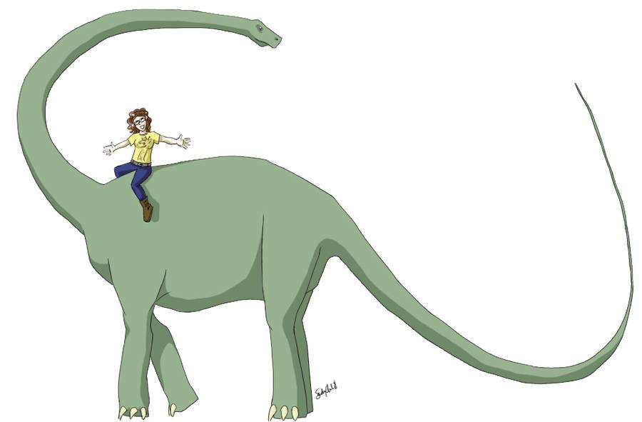 Barosaurus by ourdancingdays