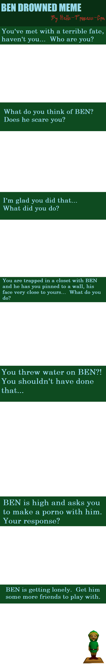 BEN DROWNED Meme by Hells-Princess-Cra
