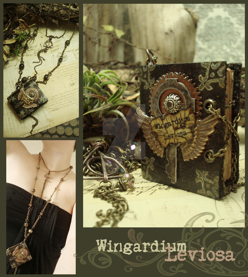 Wingardium Leviosa by luthien27