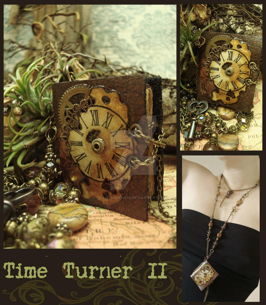 Time Turner II by LuthienThye
