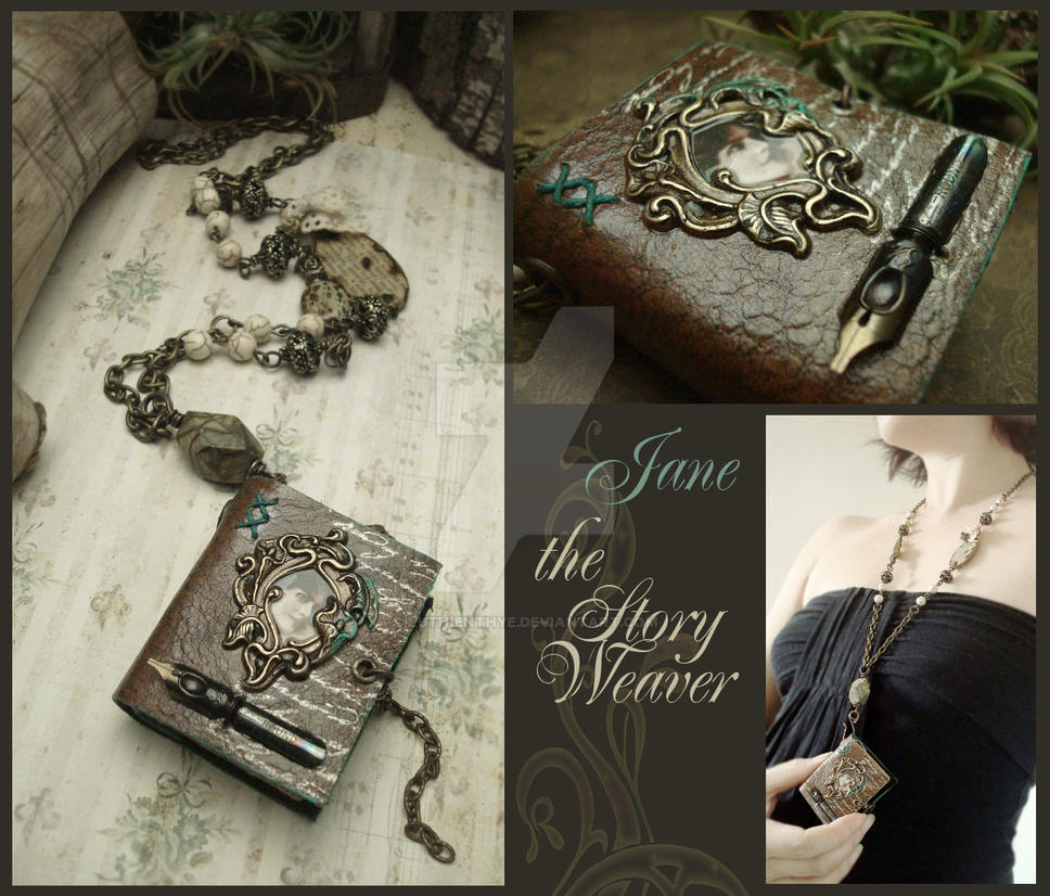Jane, the StoryWeaver by LuthienThye