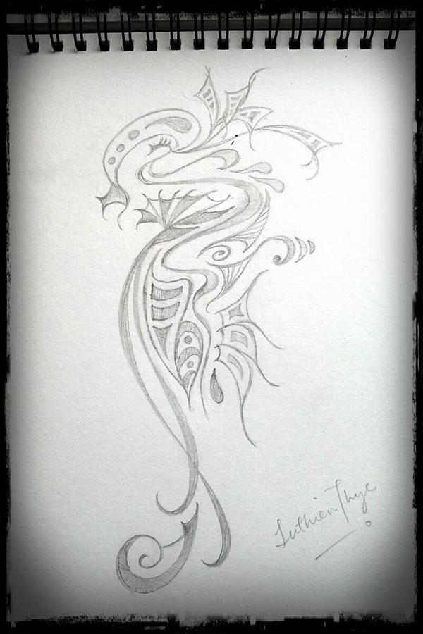 Random  Sketches I by luthien27