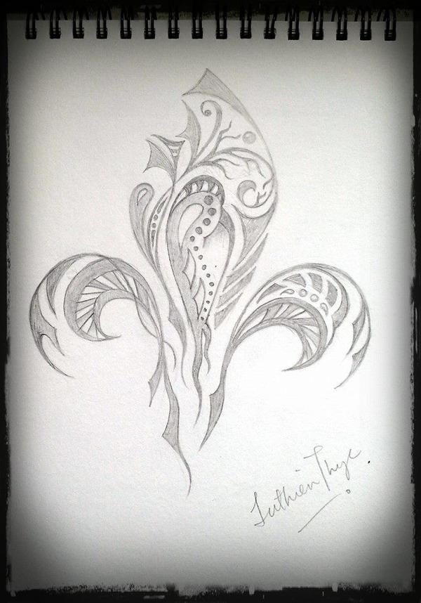 Random  Sketches II by luthien27