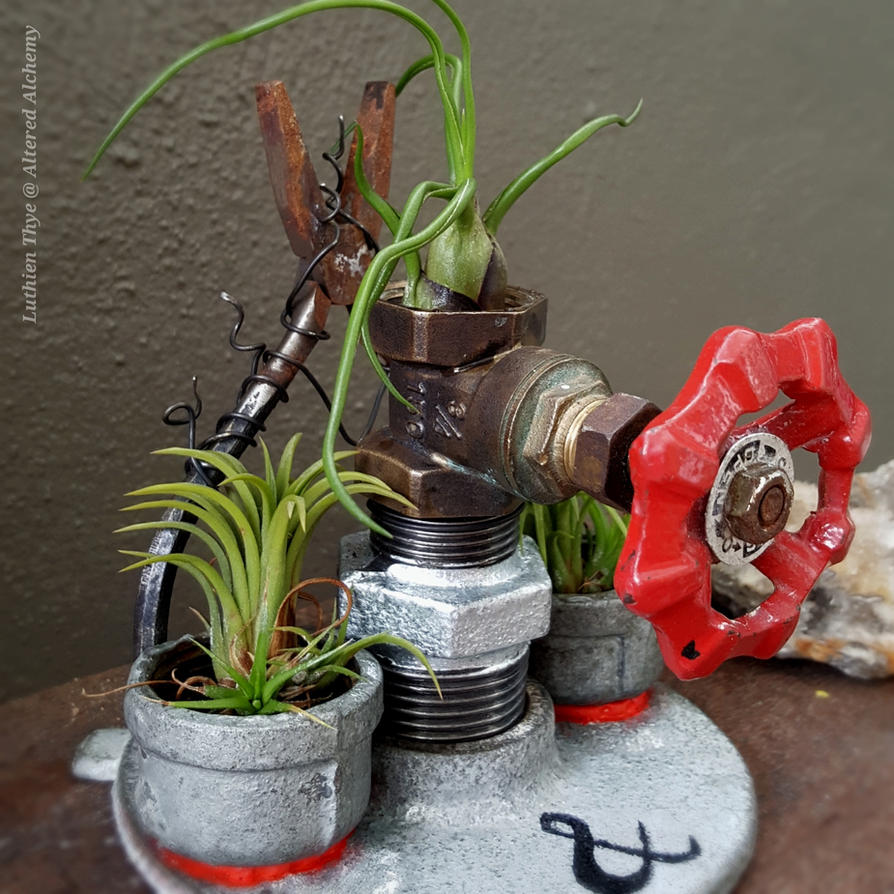 Industrial Planter by LuthienThye