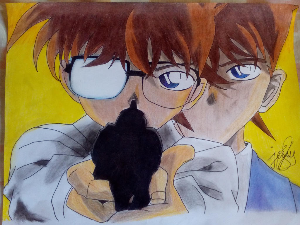 Detective Conan by Immarider27