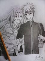 KurokoxMomoi by Immarider27