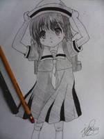 Okazaki Ushio by Immarider27