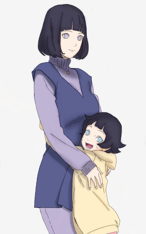 Hinata and Himawari Boruto Next Generation by AiKawaiiChan ...