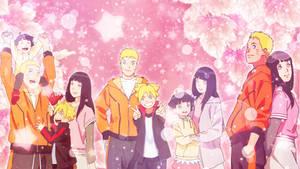Familia Uzumaki Wallpaper by AiKawaiiChan