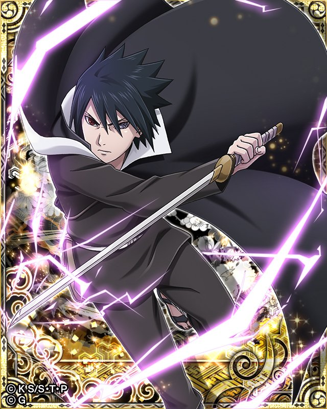 Sasuke Uchiha New Card by AiKawaiiChan