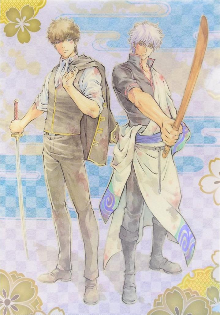 Gintoki And Hijikata by AiKawaiiChan