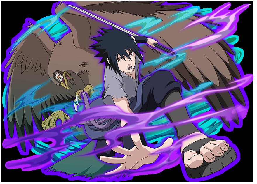 Sasuke and Garuda by AiKawaiiChan