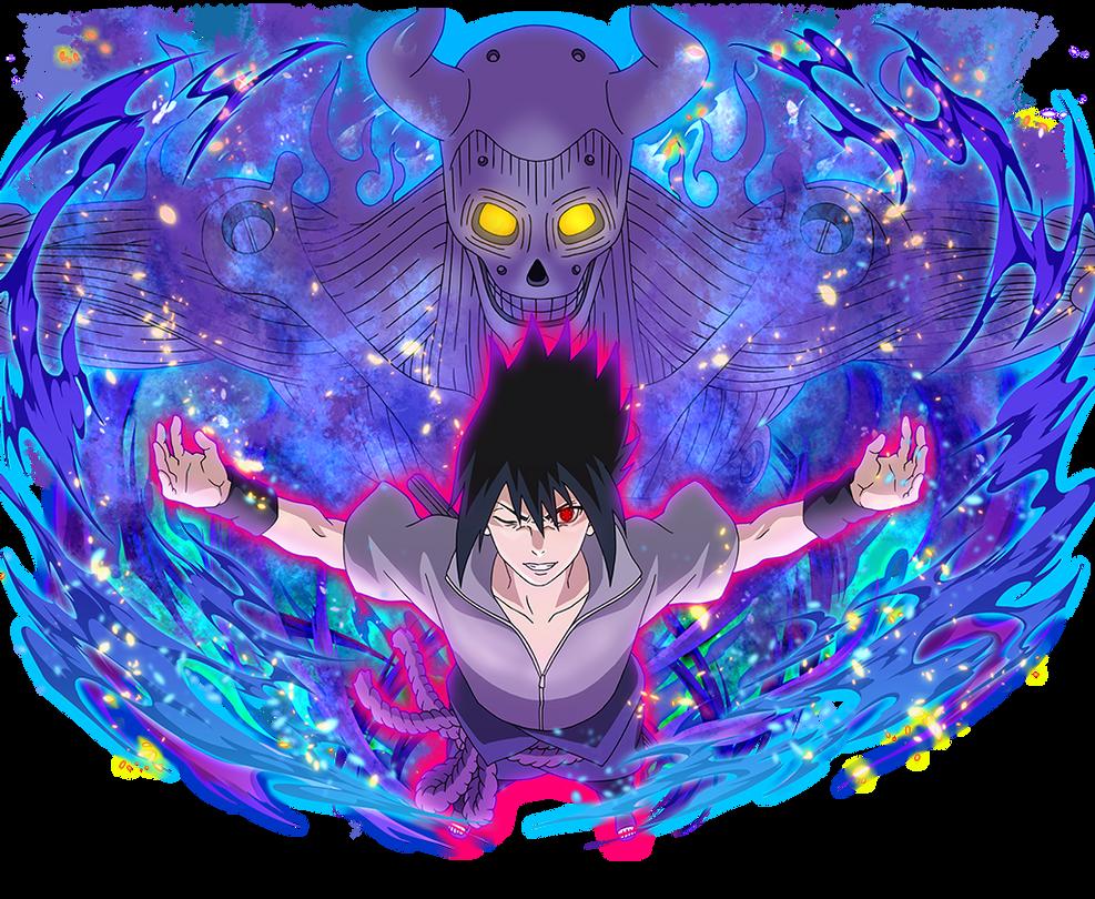 sasuke and susanoo by aikawaiichan on deviantart