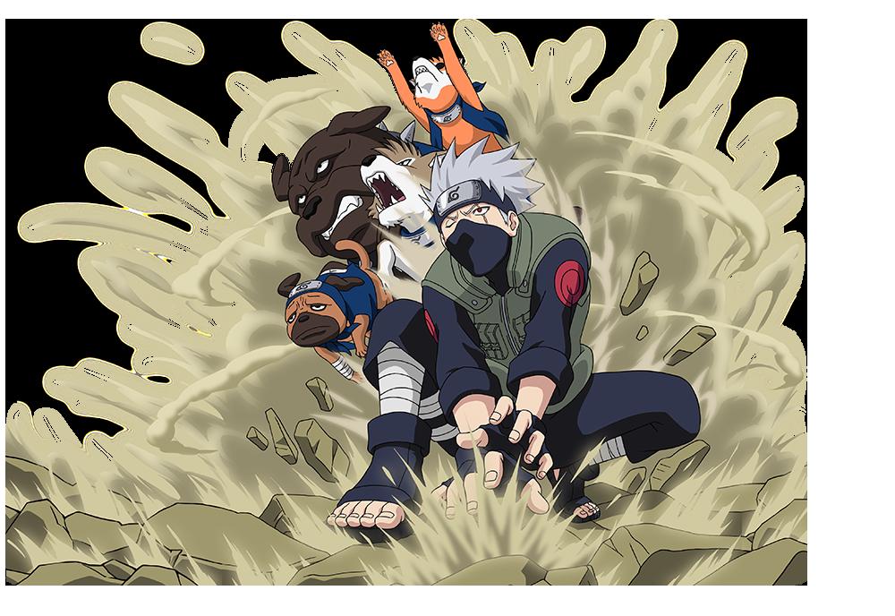 Kakashi Hatake and Ninken by AiKawaiiChan
