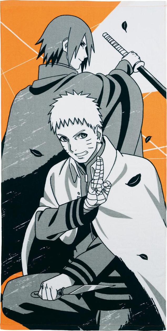 Naruto Nanadaime Hokage and Sasuke by AiKawaiiChan