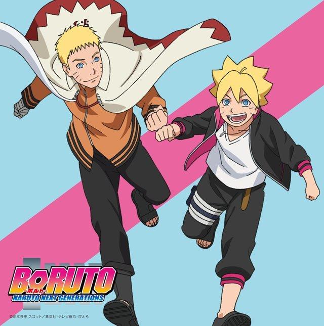 Naruto and Boruto by AiKawaiiChan