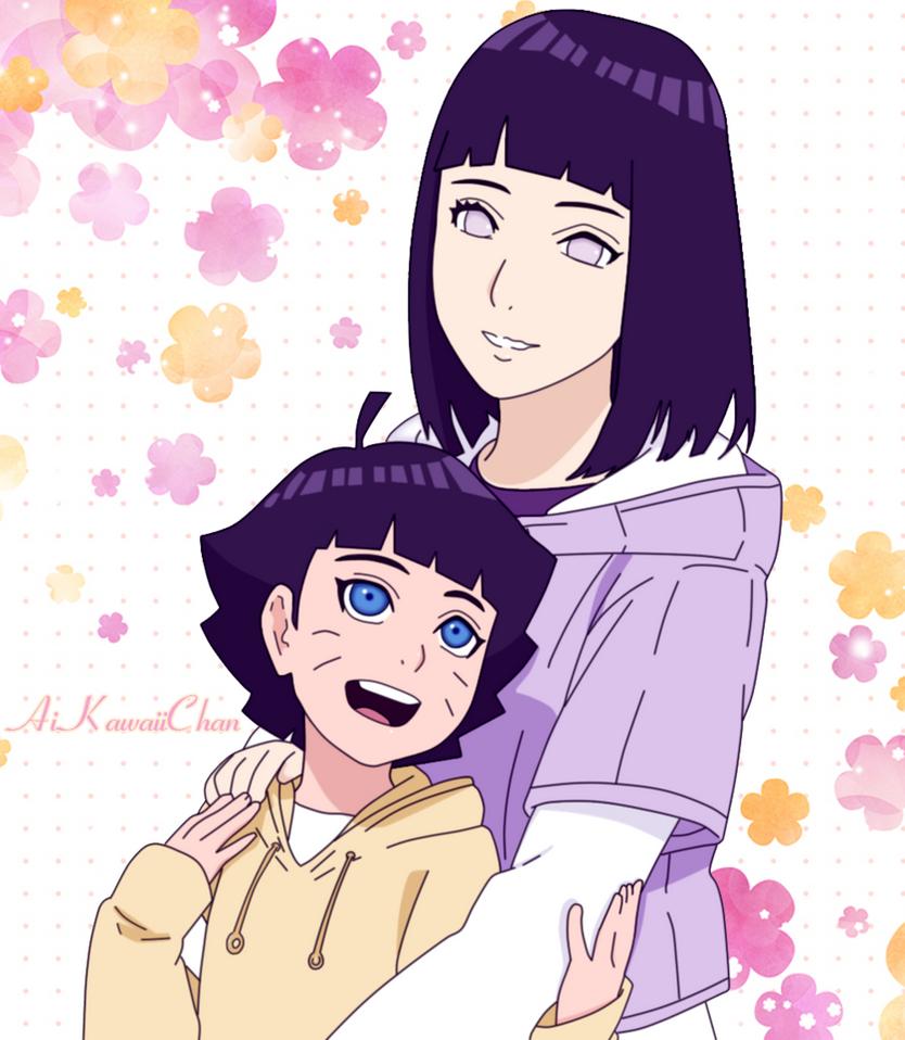 Hinata Uzumaki y Himawari Uzumaki by AiKawaiiChan