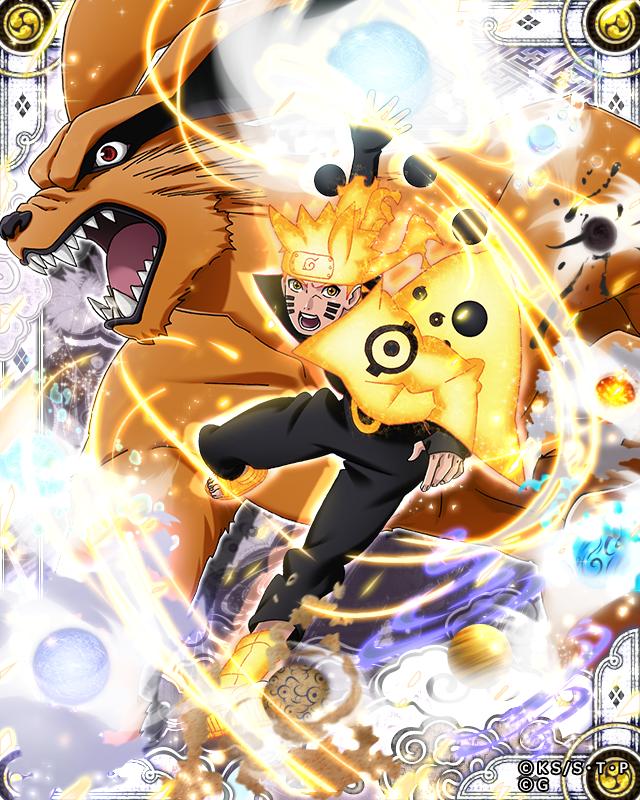 Naruto Rikudo Sennin Modo y Kurama by AiKawaiiChan