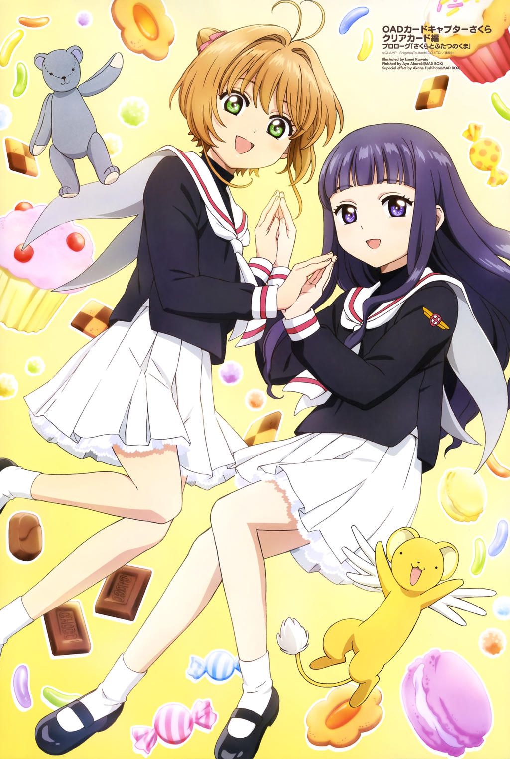 Sakura y Tomoyo Card Captor Sakura Clear Card by AiKawaiiChan