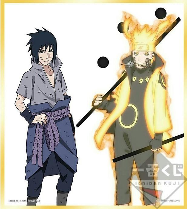 Naruto Rikudo Sennin Modo y Sasuke by AiKawaiiChan