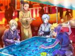 Boruto, Mitsuki, Shikadai e Inojin [Matsuri]