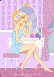 Lavender Blonde by arcuate
