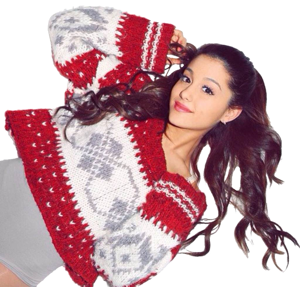 Ariana Grande Christmas Wallpaper