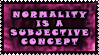Normality by Clelius