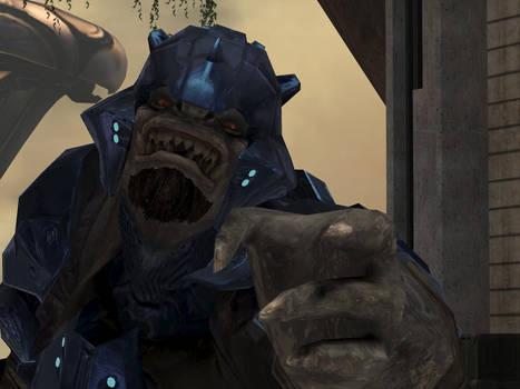 One Un-Happy Brute