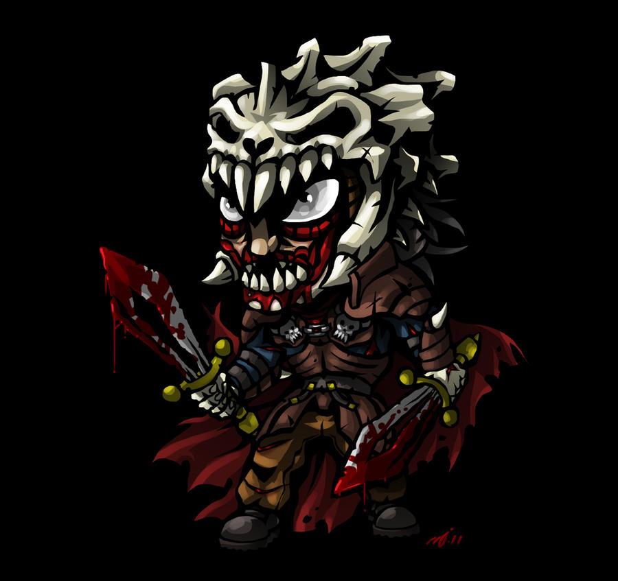 SD Evil Ash by DeTinteyLengua